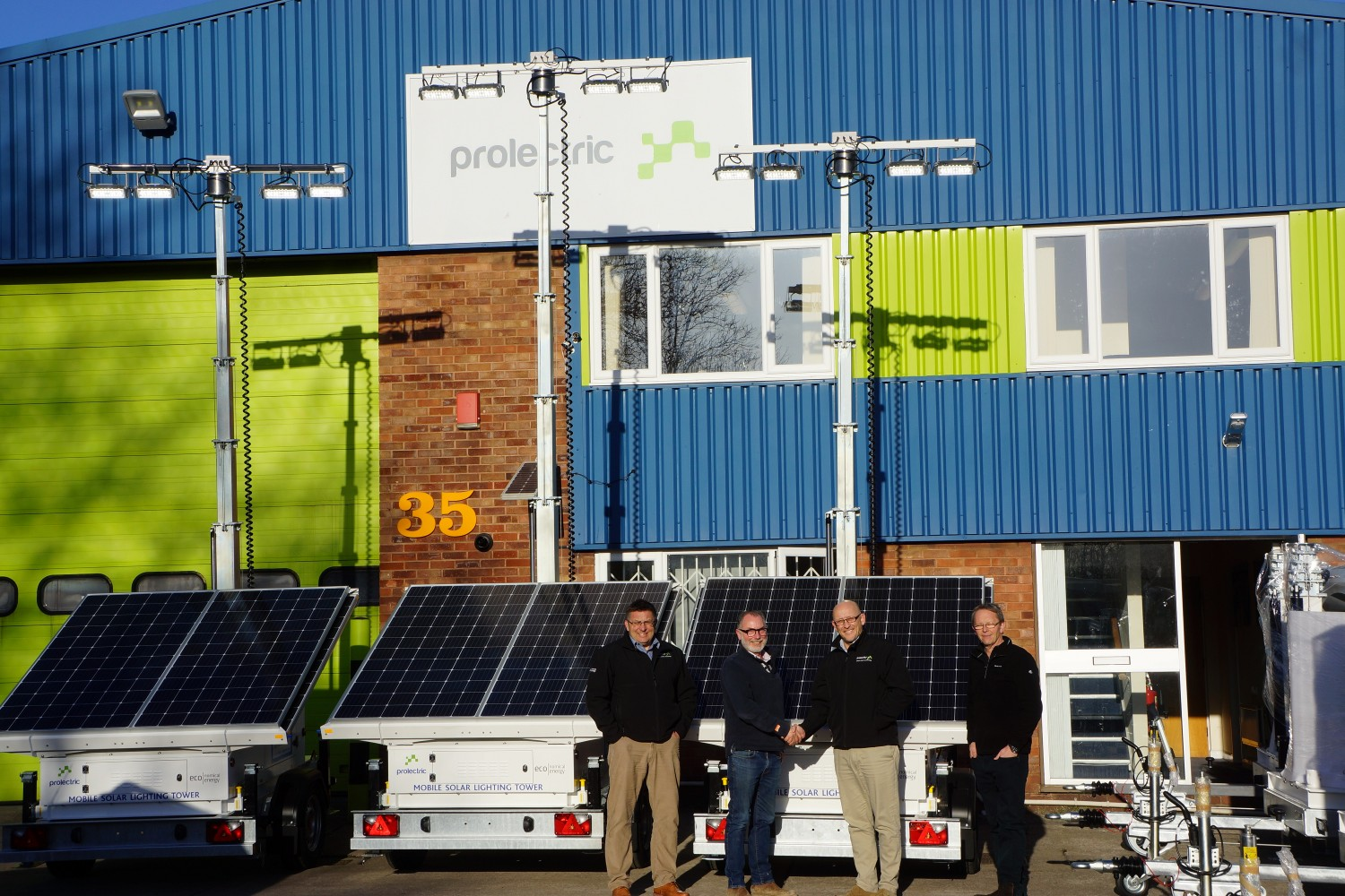 BooBoo Plant Hire spreads sunshine with solar trailer