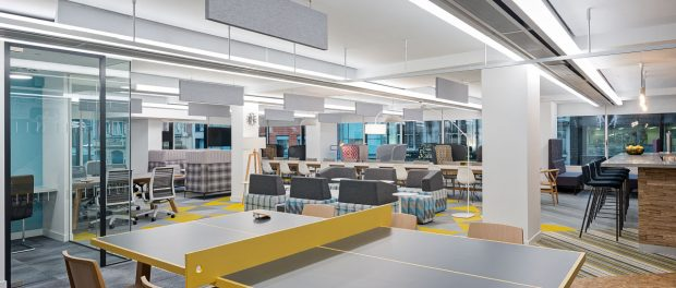 As a company that firmly believes that a happy workforce is a productive workforce london based fit out specialists oktra provides its employees with
