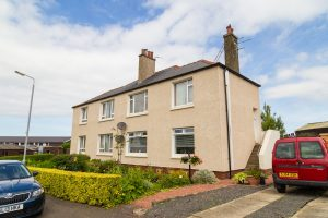 Properties fitted with external wall insulation
